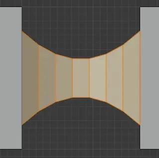 Inverse Square Profile Shape