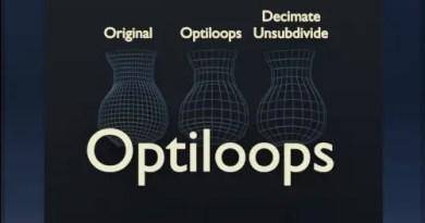 Optiloops addon Blender 2.8