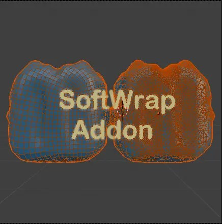 SofttWrap addon - a new way of retopology