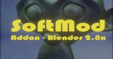 SoftMod Addon - Blender 2.8With the SoftMod addon for Blender 2.8