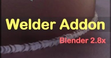 Welder addon - Blender 2.8