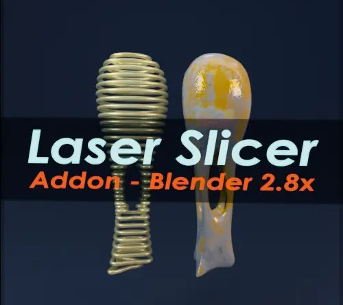 Laser Slicer Addon - Cover on Blender-addons.org
