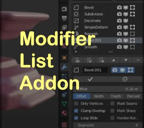 Modifier list Addon - Cover