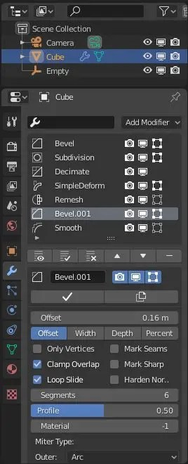 modifier list addon - UI