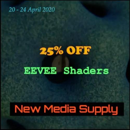 EEVEE Shaders - Spring Sale on Blender Market