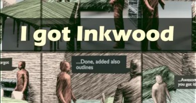 Inkwood shaders for Blender