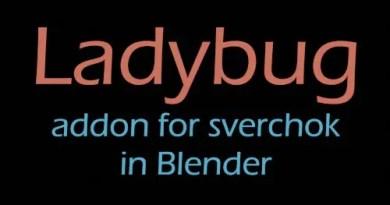 Ladybug addon for Blender