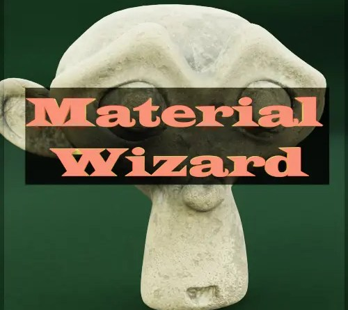 Material Wizard - Cover