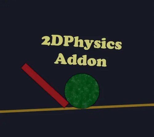 2DPhysics Addon for Blender