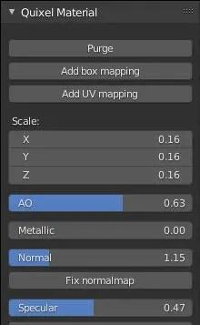 Quixel Helper addon - Triplanar Mapping