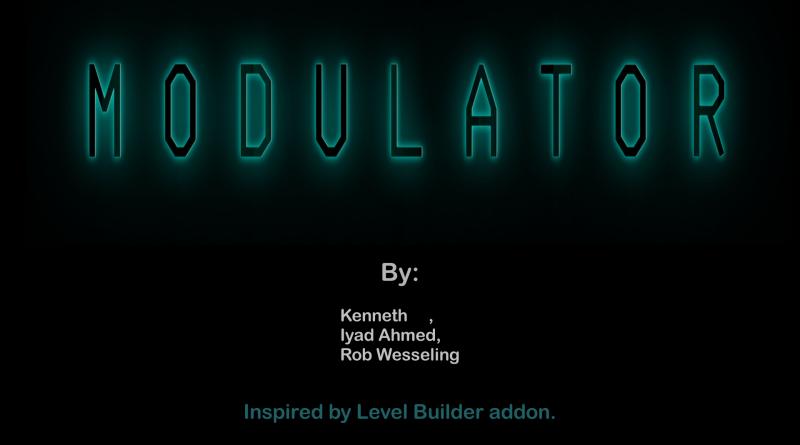 Modulator - Modular Assets and Kitbash