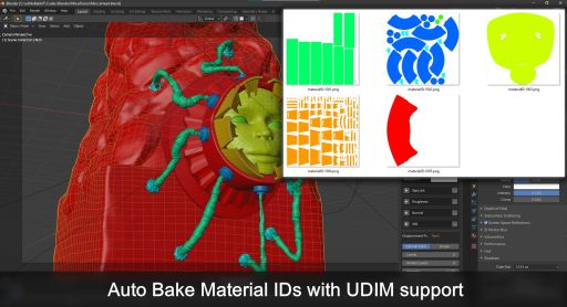 Auto Bake Material IDs