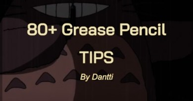 Cover 80 Blender Grease Pencil tips