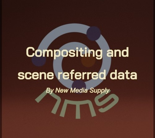 Cover Compositing and scene referred data