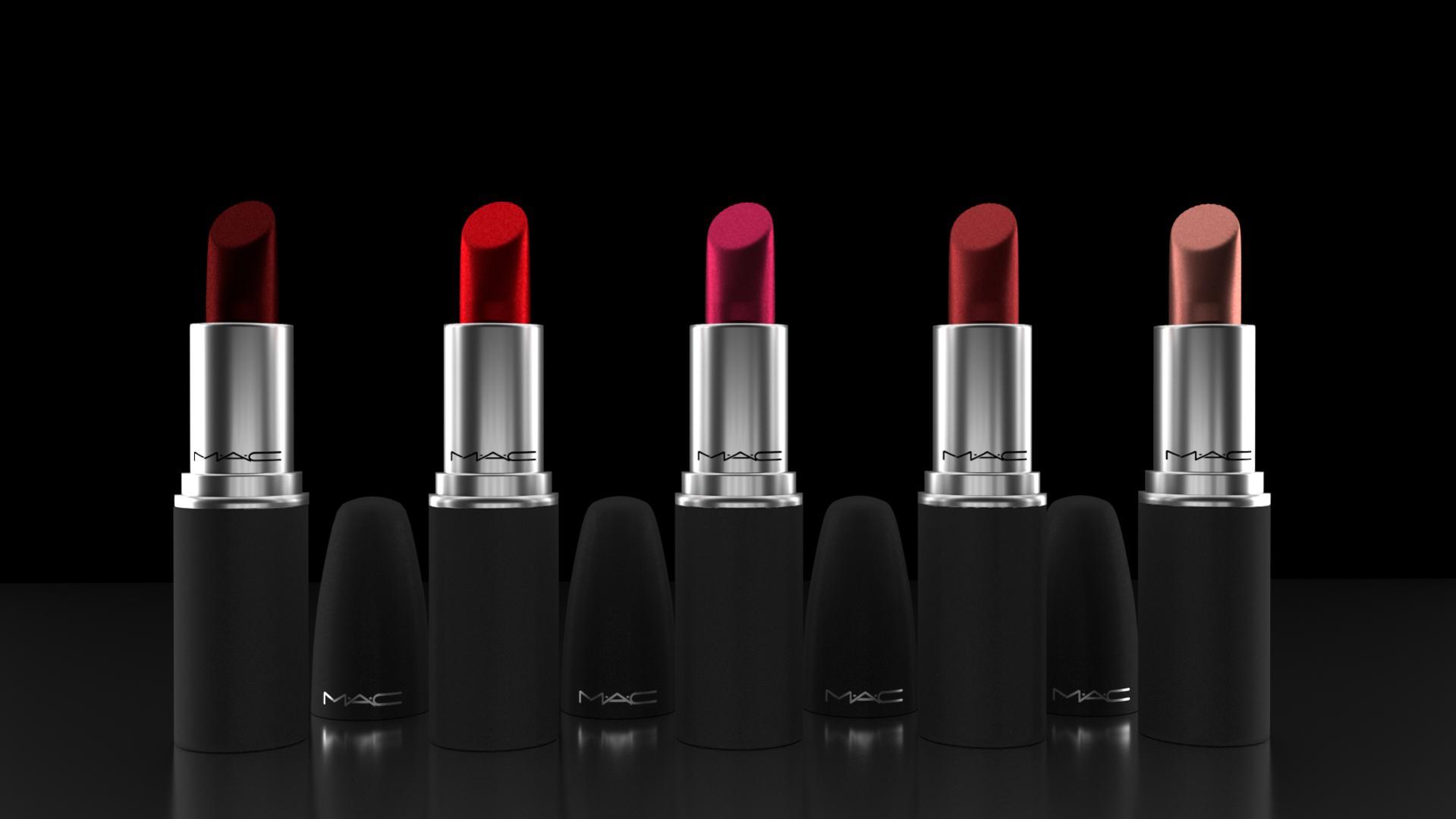 Mac Lipstick Ad Non Commercial Use Works In Progress