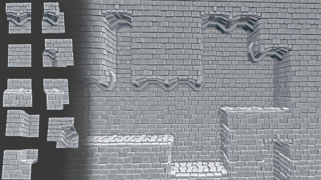 addon seamless tiling offset modeling