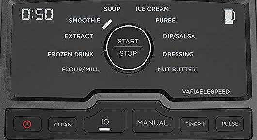 Ninja CT810 Chef Blender Panel