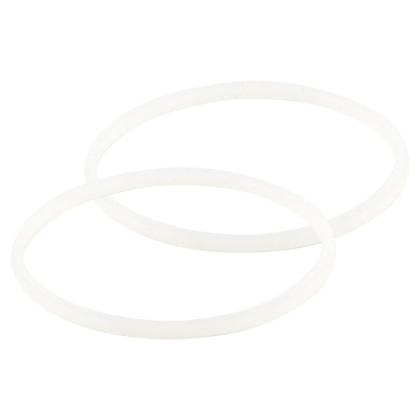 2 Pack White Gaskets Rubber Sealing O-Ring Replacement Part for Nutri Ninja Blenders BL660 BL663 BL663CO BL665Q BL740 BL770 BL771 BL773CO BL810C BL810Q BL820 BL830