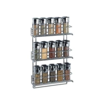3 Tier Wall Mounted Spice Rack
