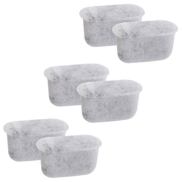 Cuisinart Charcoal Water Filter Replacement DCC-RWF 6 Pack