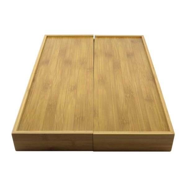 Expandable Bamboo Utensil Tray