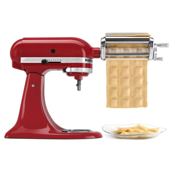 3 Pack KRAV Ravioli Maker and Cutter Attachment for KitchenAid Stand Mixers