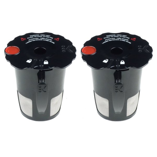 Keurig 2.0 My K-Cup Reusable Coffee Filters 2 Pack