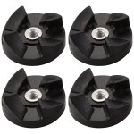 4 Pack Blade Gear Replacement Parts Compatible with Magic Bullet 250W MB1001