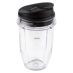 Nutri Ninja 18 oz Cup with Sip & Seal Lid Replacement Model 427KKU450 408KKU641