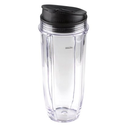 Nutri Ninja Jumbo Multi-Serve 32 oz Cup with Sip & Seal Lid Replacement Model 407KKU641 408KKU641