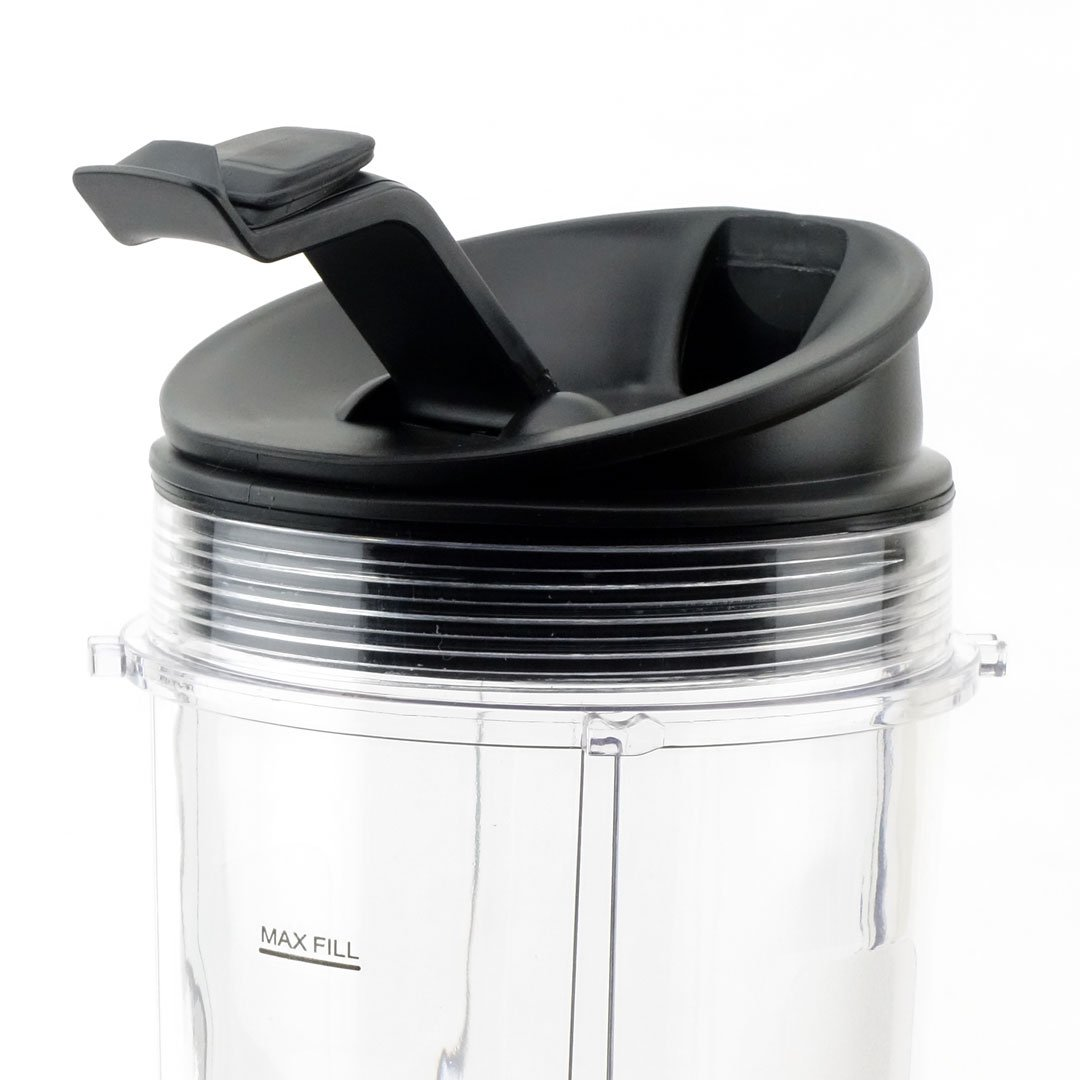 4 Pack Sip /& Seal Lid for Ninja Nutri Ninja Blender System with Auto-iQ BL680A