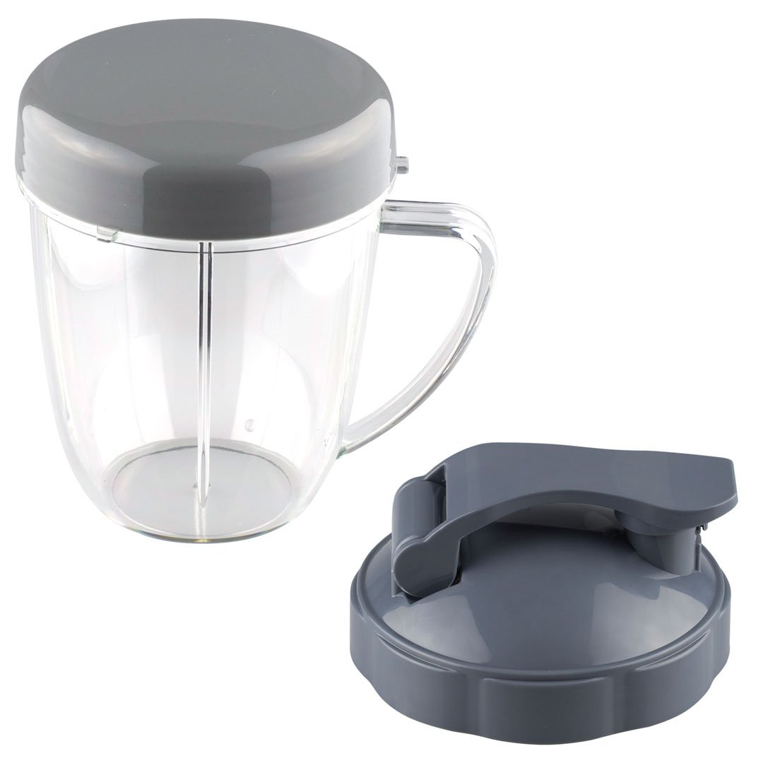 Nutribullet 18 Oz Handled Short Cup With Re Sealable Lid