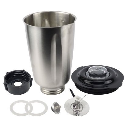 Oster 6-Cup Stainless Steel Jar No Handle Combo Set with Coupling