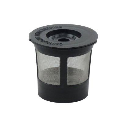 Keurig Single K-Cup Solo Reusable Coffee Filter Pod Stainless Mesh for K10 K15 K40 K45 K55 K60 K65 K70 K75 K79