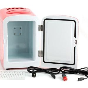 Portable Mini Fridge Cooler and Warmer 4L AC & DC Red