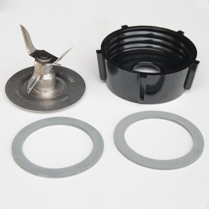 Oster Ice Crusher Blade 4961 Jar Base 2 Rubber Gaskets Combo