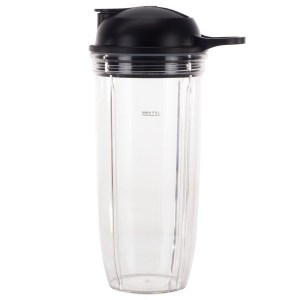 32 oz Cup and To-Go Lid Replacement Parts Compatible with NutriBullet Pro 1000, Combo and Select Blenders