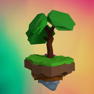 Low Poly Simple Tree – Blender Speedart