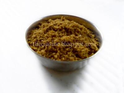 Sambar Powder ~ Andhra Style