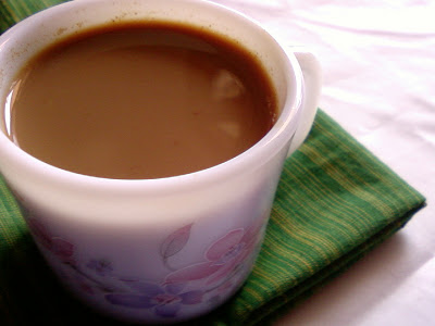 Pudina Chai ~ Indian Mint Tea