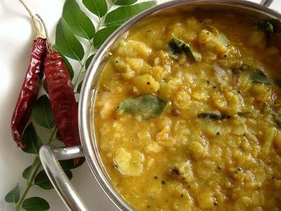 Beerakaya Pappu ~ Ridge Gourd Dal