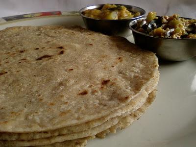 Jonna Rotte ~ Traditional Jowar Roti