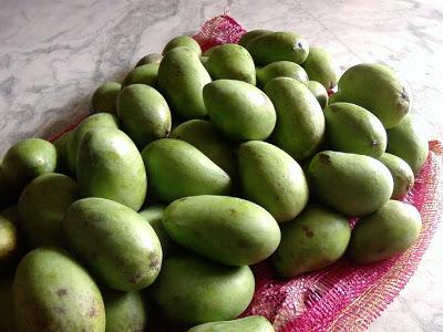 In Season : Green Mangoes