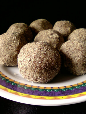Ragi Flour and Dry Coconut Ladoo