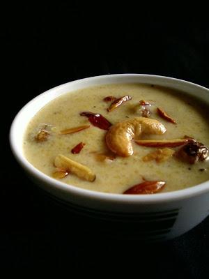 Cornmeal Payasam / Kheer