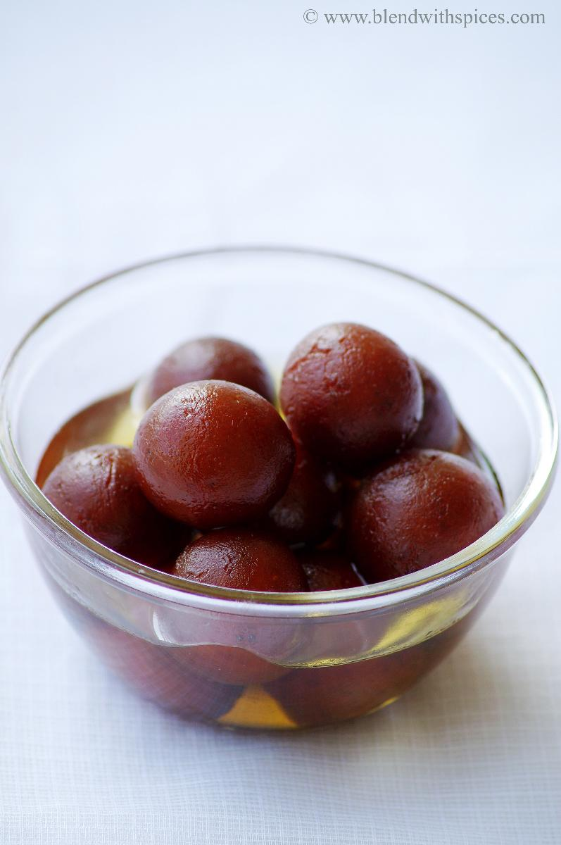 Gulab Jamun Recipe - How to make Gulab Jamun with Khoya / Kova - Step by Step Recipe - Diwali Sweets Recipes