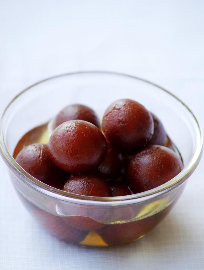 Gulab Jamun Recipe – How to make Gulab Jamun with Khoya / Kova – Step by Step Recipe – Diwali Sweets Recipes