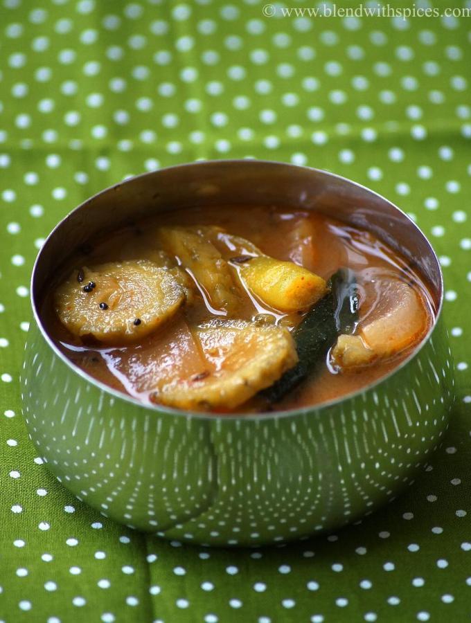 Kakarakaya Pulusu Recipe – Andhra Style Bitter Gourd Stew Recipe