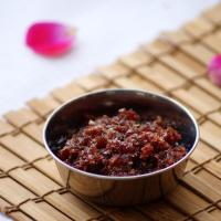 Gulkand Recipe - How to make Gulkand at home - Rose Petal Preserve Recipe