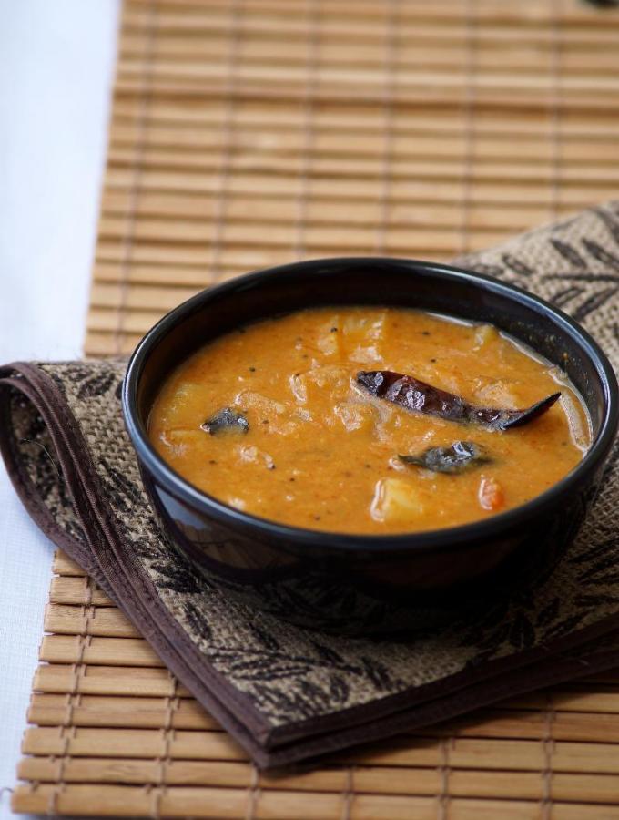 Mullangi Pesarapappu Sambar Recipe – Radish Moong Dal Sambar Recipe